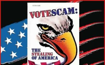 Vote Scam Election Fraud red
